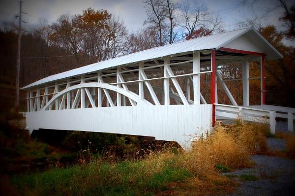Covered Bridge by Hmccdc