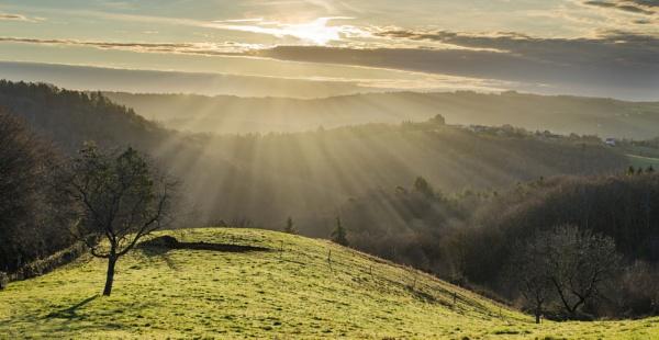 Correze Sunrise by Georgerees123