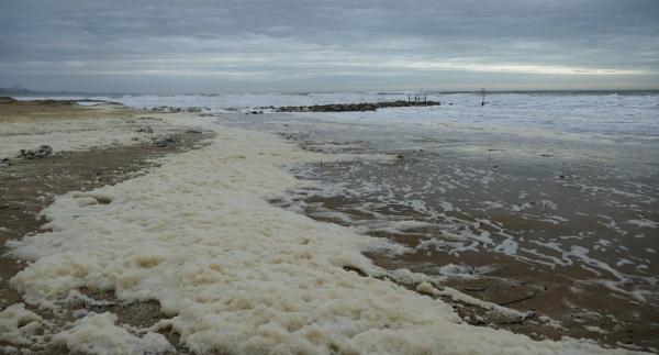 Beach Foam by navigatornick