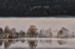 Autumn Mist Of Morning
