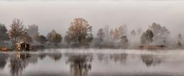 Autumn Misty Morning