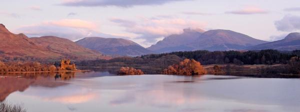 Loch Awe sunset by bobpaige1