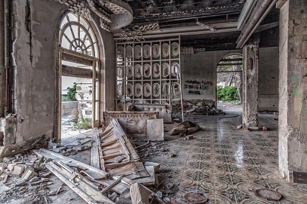 Abandoned Hotel, Croatia by pink
