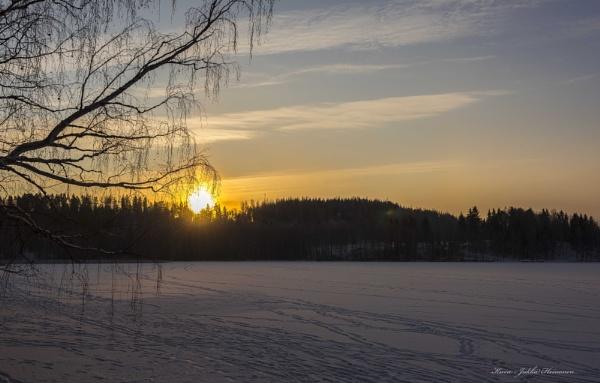 On Churchlakes Ice. by Jukka