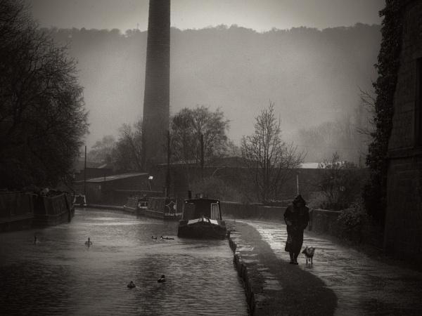 Rainy Milltown by iangilmour