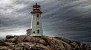 Lighthouse at Peggys Cove Nova scotia by TonyB555