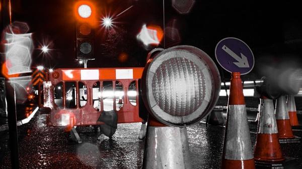 Roadworks Ahead by Gazsu