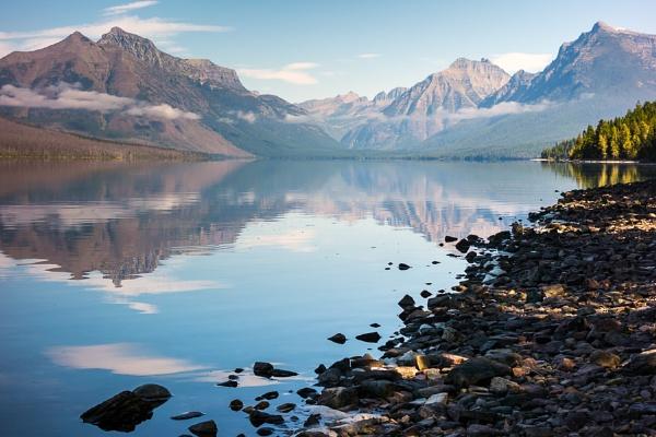 Lake McDonald by Phil_Bird
