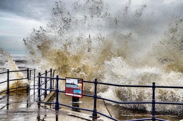 Stormy Sea Amble by icphoto