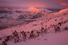 Snowdon sunrise at Winter 2016