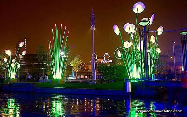 Light Show Bradford by Pianoman
