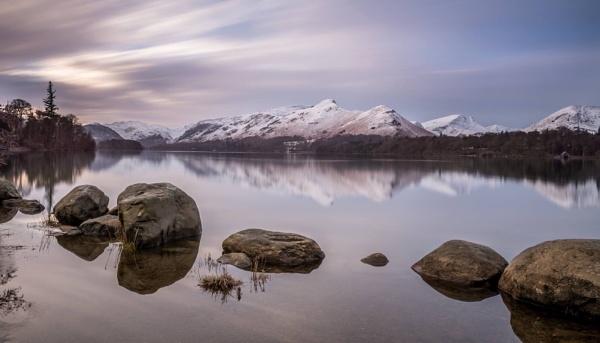 Snowy Sunrise by Andyjonno