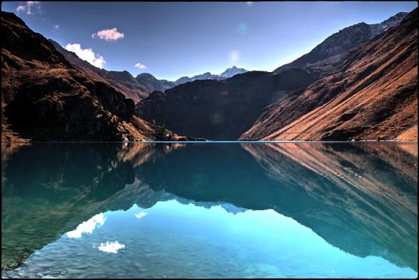 EOS reservoir at Cleuson - Valais by dukes_jewel