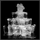 Shot glass fountain by EddieAC