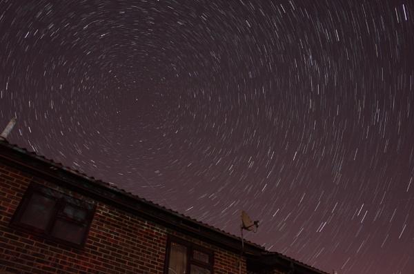 Star trail by EeyoresFriends