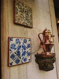 Wall tiles...