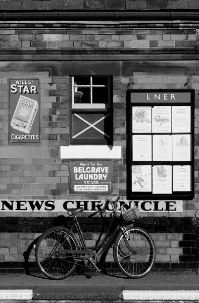 The Station Master\'s Wife\'s Bicycle by nanpantanman