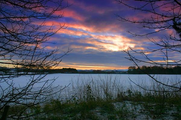 winter morning light by Eckyboy