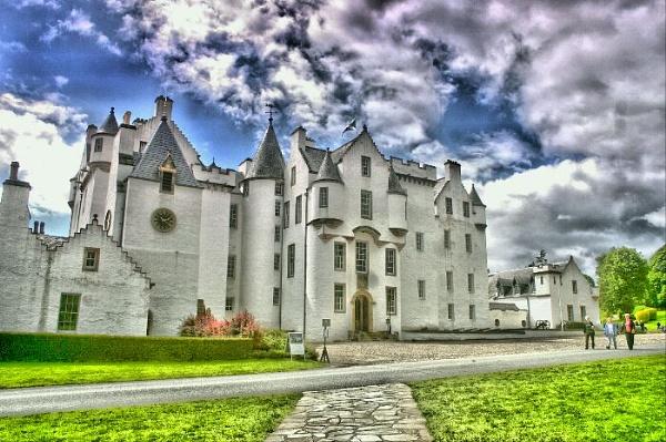 Blair castle by Eckyboy