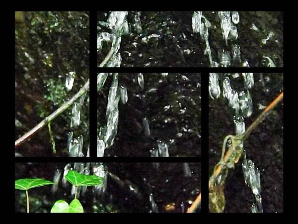 Water droplets by Mototaur