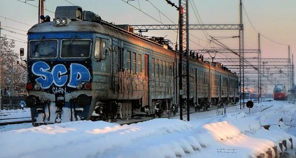 Train by MileJanjic