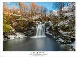 The Falls of Falloch in Winter