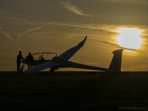 Evening Hanger flight by Chrisjbooth