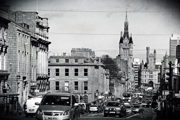 Aberdeen Union Street by bugdog