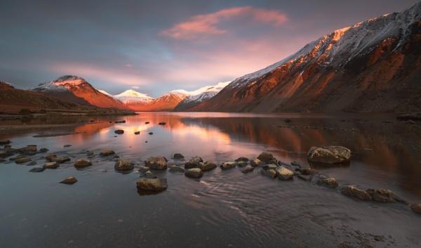 Wasdale sunset by BobShaw