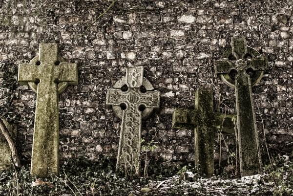 Celtic crosses by dawnstorr