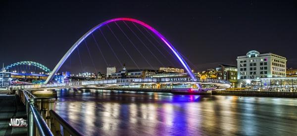 Newcastle evening by jeronius