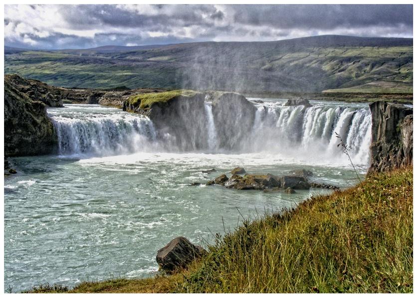 Godafoss Waterfall take 2