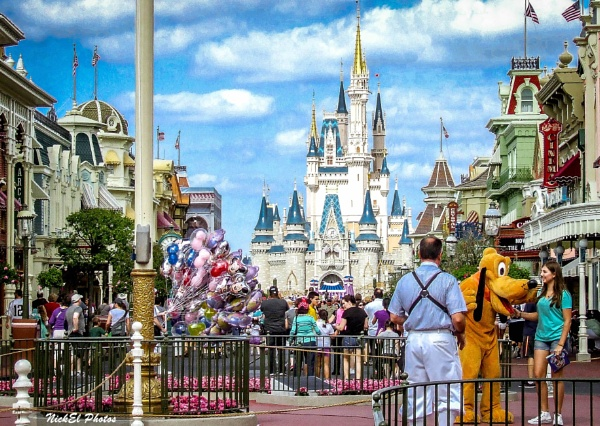 A magical view in Walt Disney World by Nick_El