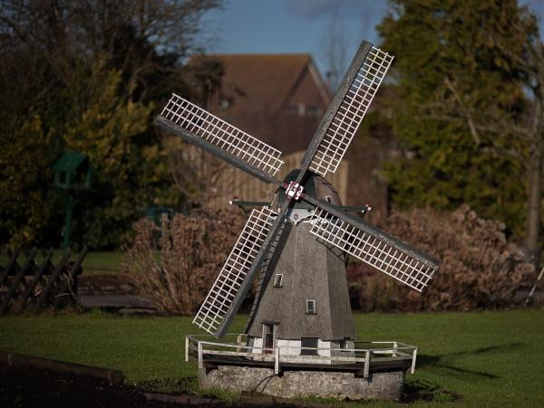 Windmill by kuipje