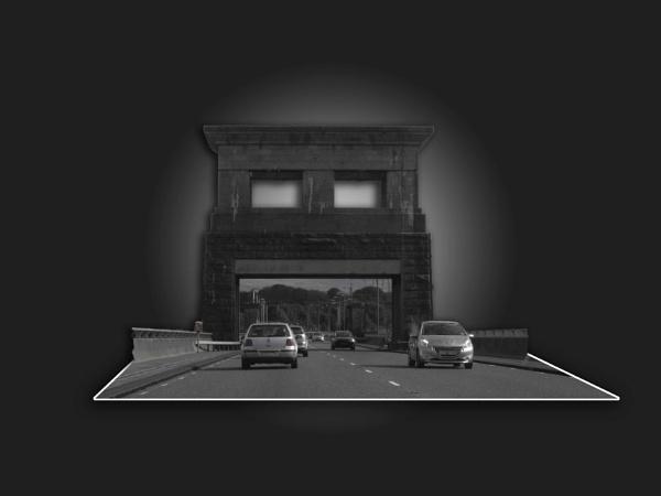 Black and white Bridge by carinaios