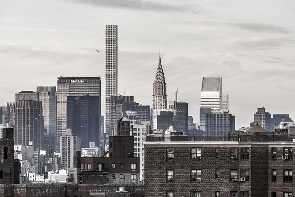 Midtown Skyline by TyChee
