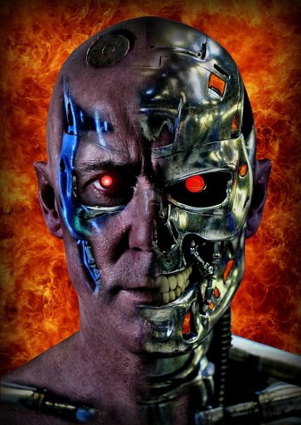 Terminator by photofrenzy