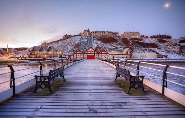 saltburn pier by steviehutch