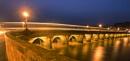 Dusk on Bideford old Bridge by JenRogers