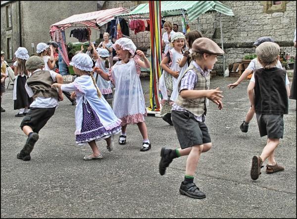 Folk Dancing. by stocksbridge