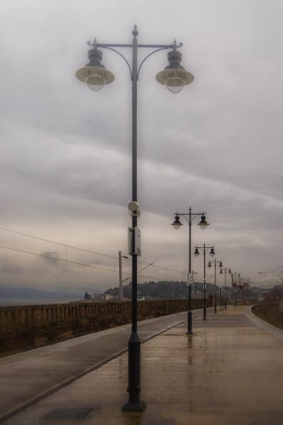 Wet & dreary platform by michaelharris
