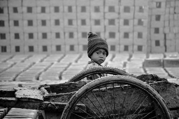 BRICK FIELD CHILD by Chinmoy