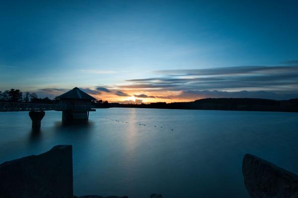 Cropston Reservoir at Sunset by Brocknr