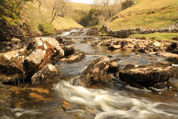 Ingleton Falls by deanjohn