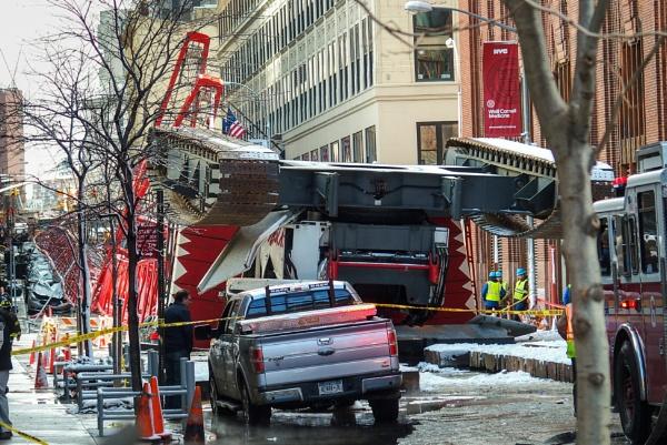 Tragedy in Lower Manhattan by TyChee