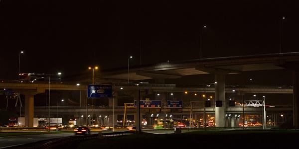 evening traffic by macdaniel