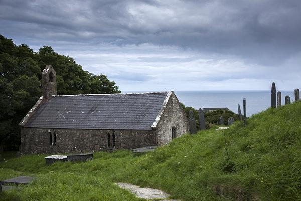 Pistill Church, Wales by ednys