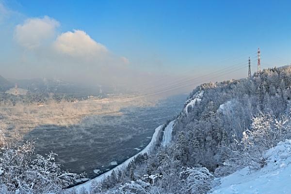 Yenisei River 02 by MarkScheider