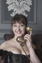 Lady Hazel n her brass bits
