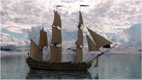 HMS Licorne by KDC